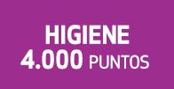 Higiene 4.000 puntos