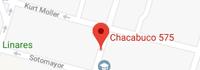 Mapa Sucursal Linares Uno Salud dental